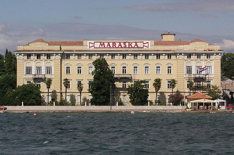 La vecchia fabbrica della Luxardo a Zara, attuale sede della Maraska