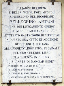 Piazza_d'azeglio_35_villino_puccioni,_targa_pellegrino_artusi