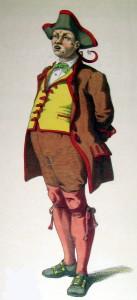 Gianduja, maschera piemontese