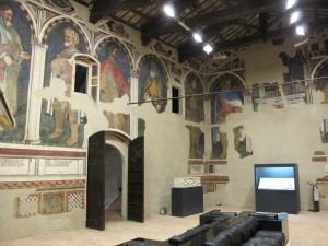 Foligno, Palazzo Trinci (sala dei giganti)